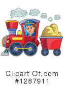 Train Clipart #1287911 by visekart