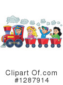 Train Clipart #1287914 by visekart