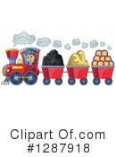 Train Clipart #1287918 by visekart