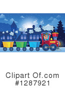 Train Clipart #1287921 by visekart