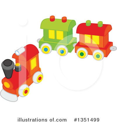Train Clipart #1351499 by Alex Bannykh