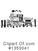 Royalty-Free (RF) Train Clipart Illustration #1353041