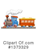 Royalty-Free (RF) Train Clipart Illustration #1373329