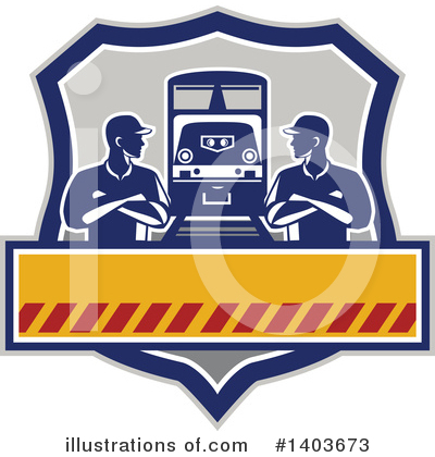 Train Clipart #1403673 by patrimonio