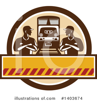 Train Clipart #1403674 by patrimonio