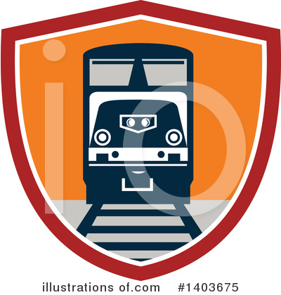 Train Clipart #1403675 by patrimonio