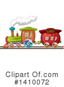 Royalty-Free (RF) Train Clipart Illustration #1410072