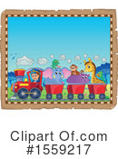 Train Clipart #1559217 by visekart