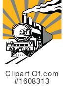 Train Clipart #1608313 by patrimonio