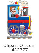 Train Clipart #33777