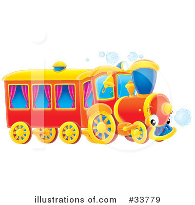 Train Clipart #33779 by Alex Bannykh