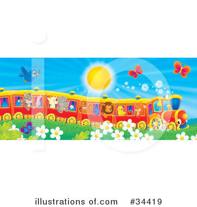 Train Clipart #34419 by Alex Bannykh