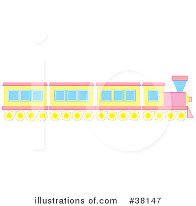 Train Clipart #38147 by Alex Bannykh