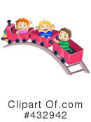 Royalty-Free (RF) Train Clipart Illustration #432942