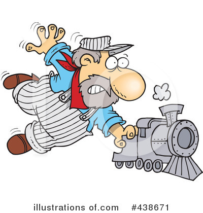 Train Engineer Clipart #438671 by toonaday