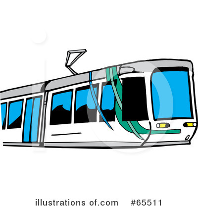 Subway Clipart #65511 by Dennis Holmes Designs