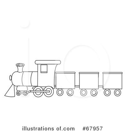 Train Clipart Black And White