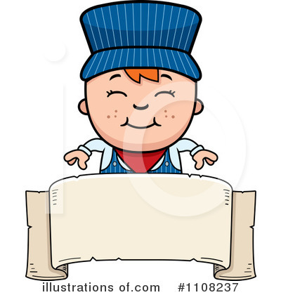 Train Engineer Clipart #1108237 by Cory Thoman