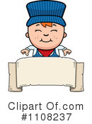 Royalty-Free (RF) Train Engineer Clipart Illustration #1108237