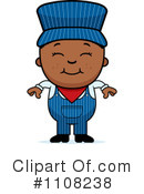 Train Engineer Clipart #1108238