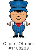 Train Engineer Clipart #1108239