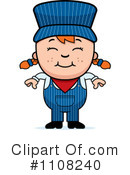 Train Engineer Clipart #1108240