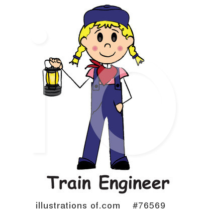 Train Engineer Clipart #76569 by Pams Clipart
