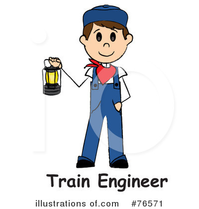 Train Engineer Clipart #76571 by Pams Clipart