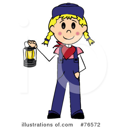 Royalty-Free (RF) Train Engineer Clipart Illustration by Pams Clipart - Stock Sample #76572