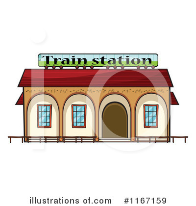 Train Station Clipart #1167159 by colematt | Royalty-Free (RF ...