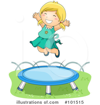Royalty-Free (RF) Trampoline Clipart Illustration by BNP Design Studio - Stock Sample #101515