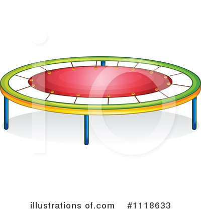 Royalty-Free (RF) Trampoline Clipart Illustration by colematt - Stock Sample #1118633