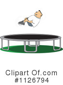 Royalty-Free (RF) Trampoline Clipart Illustration #1126794