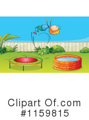 Royalty-Free (RF) Trampoline Clipart Illustration #1159815
