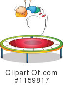 Royalty-Free (RF) Trampoline Clipart Illustration #1159817
