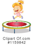 Royalty-Free (RF) Trampoline Clipart Illustration #1159842