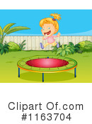 Royalty-Free (RF) Trampoline Clipart Illustration #1163704