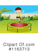 Royalty-Free (RF) Trampoline Clipart Illustration #1163713