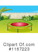 Royalty-Free (RF) Trampoline Clipart Illustration #1167223