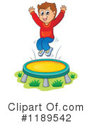 Royalty-Free (RF) Trampoline Clipart Illustration #1189542