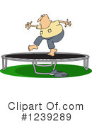 Royalty-Free (RF) Trampoline Clipart Illustration #1239289