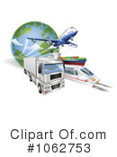 Royalty-Free (RF) Transport Clipart Illustration #1062753