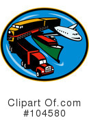 Royalty-Free (RF) Transportation Clipart Illustration #104580