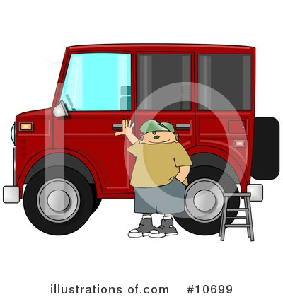 Royalty-Free (RF) Transportation Clipart Illustration by djart - Stock Sample #10699