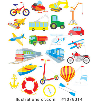 Free rf transportation clipart illustration 1078314 by alex bannykh