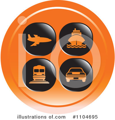 Cruise Ship Clipart #1104695 by Lal Perera