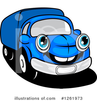 Moving Van Clipart #1261973 by Vector Tradition SM