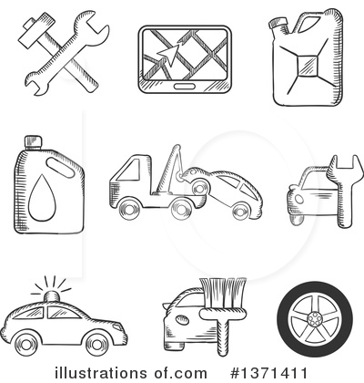 Mechanic Clipart #1371411 by Vector Tradition SM