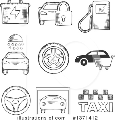 Mechanic Clipart #1371412 by Vector Tradition SM