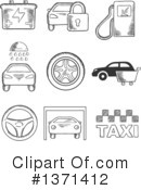 Royalty-Free (RF) Transportation Clipart Illustration #1371412